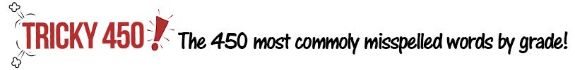 CommonlyMisspelledWordLists